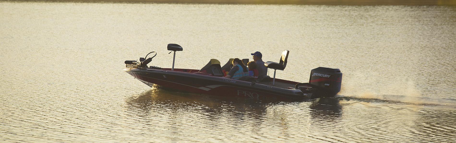 Boating at Tugaloo