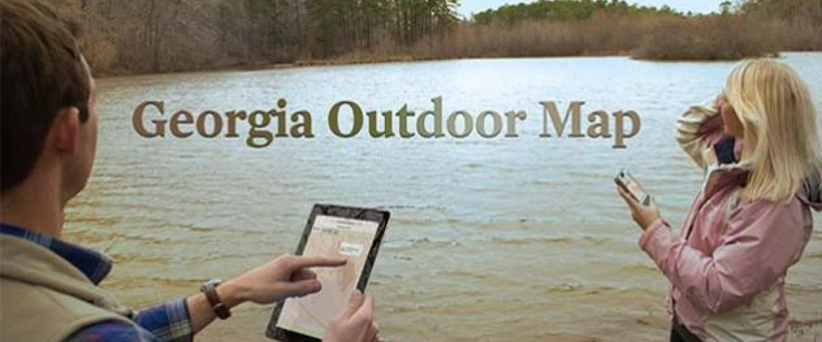 Ga outdoor map wildlife resources division for Ga dnr fishing license