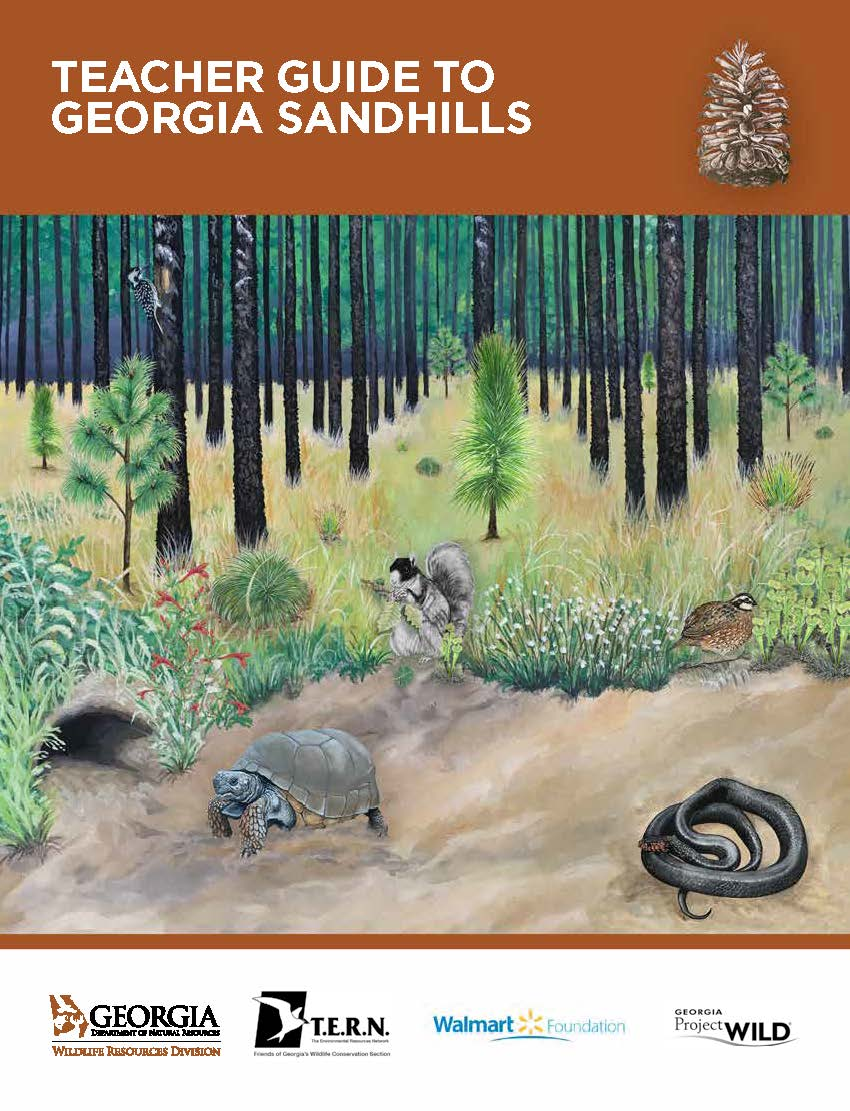 Teacher Guide to Georgia Sandhills Cover