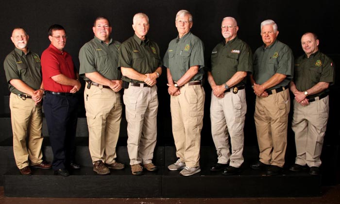 Photo of eight DNR Chaplains