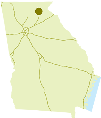 Smithgall Woods State Park Location Map