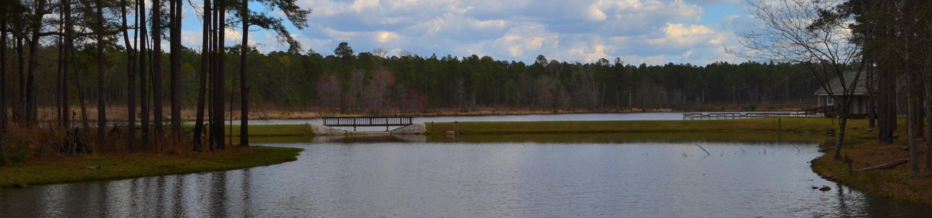 Lake at Hugh M. Gillis