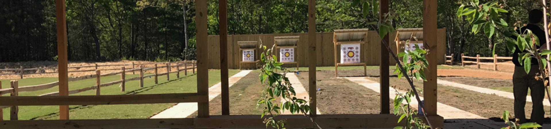 Archery Range at Unicoi
