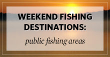 Weekend Fishing Destinations Over Sunset