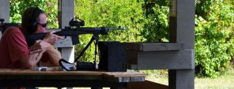 Shooting Range Bench