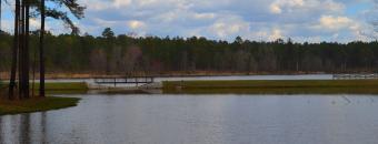 lake at Hugh M. Gillis PFA