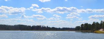 Lake and Blue Sky