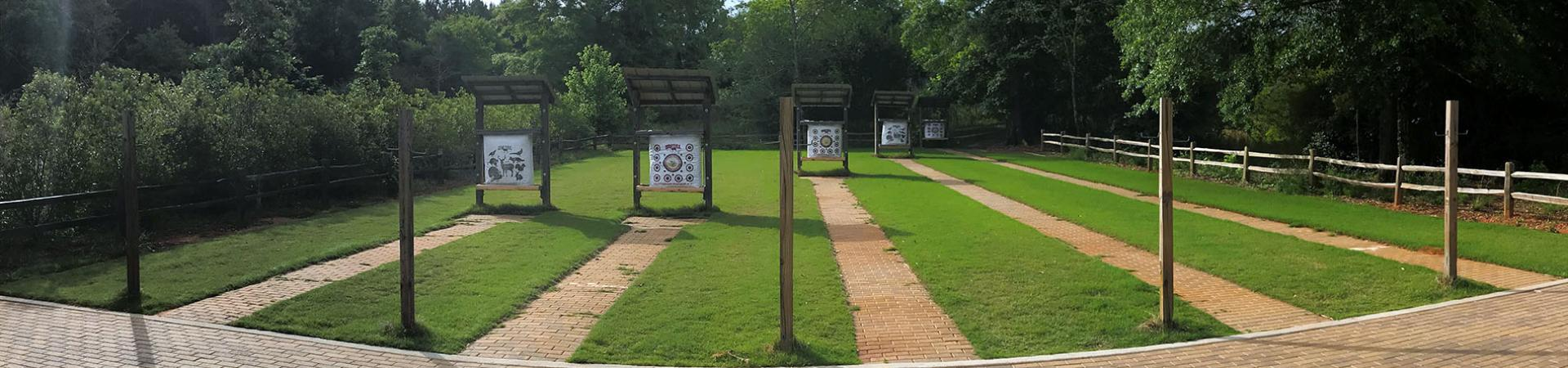 Archery Stands at Clybel