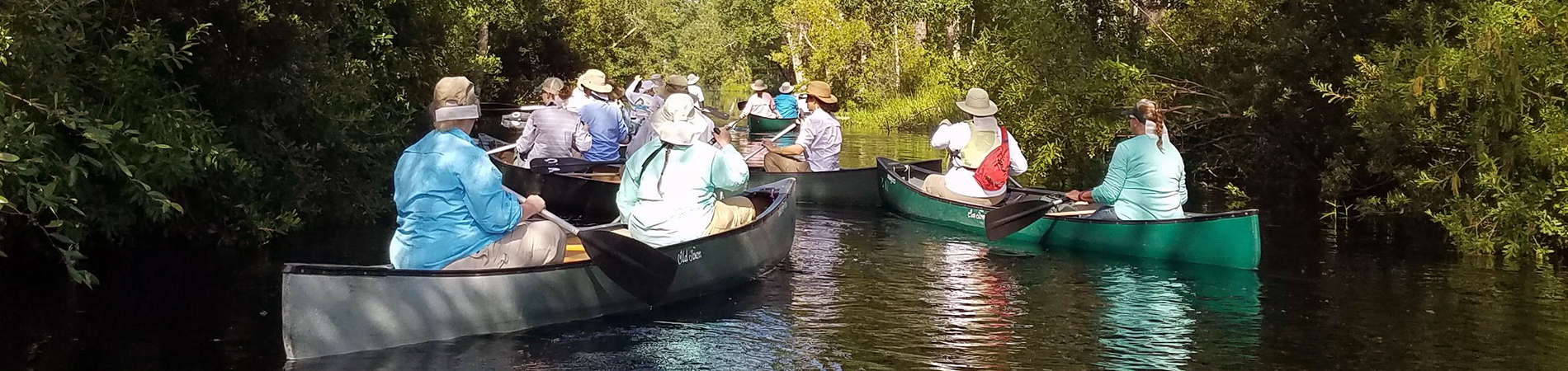 OWLS Teachers Canoeing