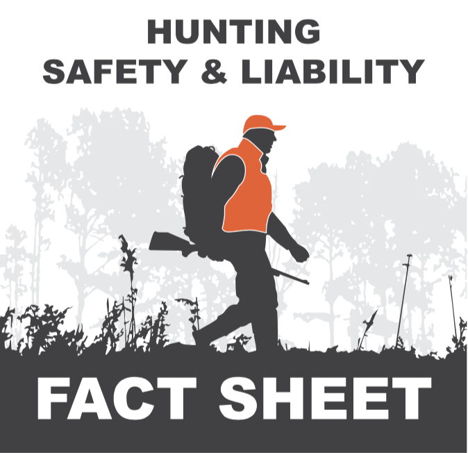 Hunting Safety & Liability Fact Sheet Icon