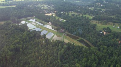 Aerial View of Hatchery