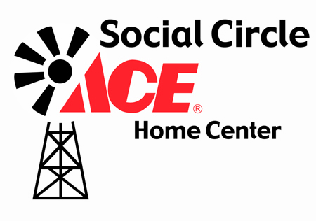 ACE Hardware Social Circle Location Logo