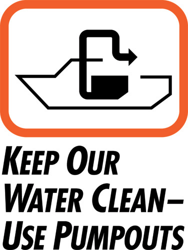 Clean Vessel Act Sign