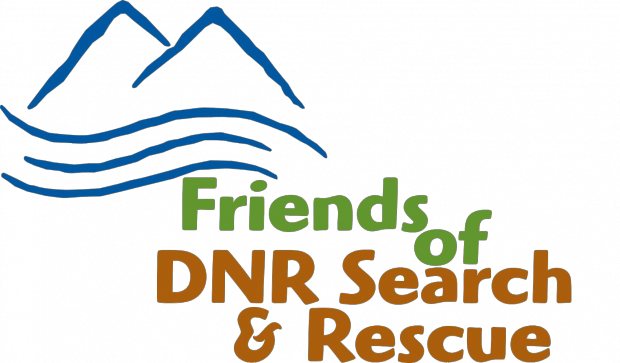 Friends of DNR Search & Rescue Logo