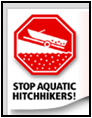 Stop Aquatic Hitchhikers Logo