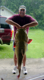 Jim Dieveney's GA State Record Flathead Catfish