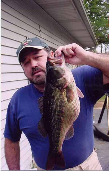 Wayne Holland's Georgia State Record Spotted Bass