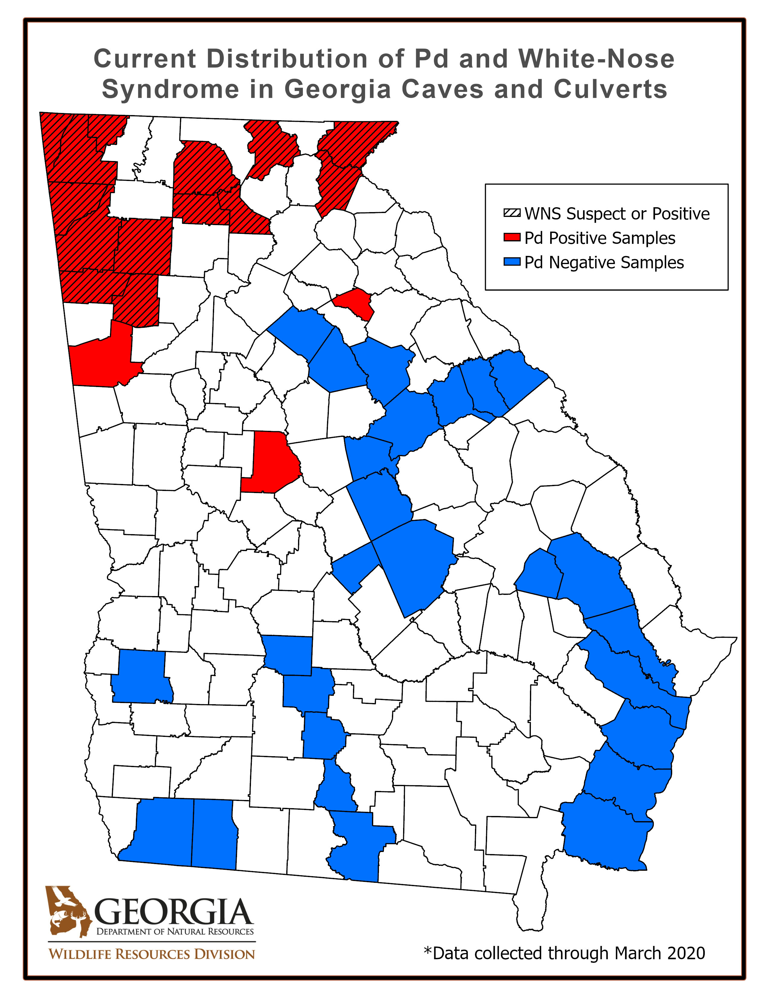WNS Spread in Georgia