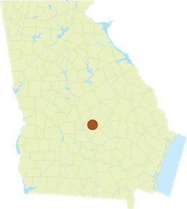 Map of Dodge County