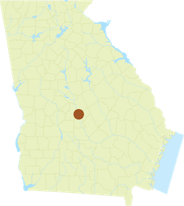 Map of Ocmulgee